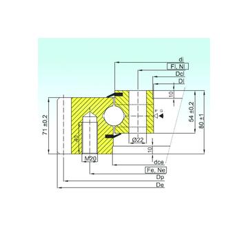 EB1.25.0455.201-2STPN ISB Thrust Ball Bearings