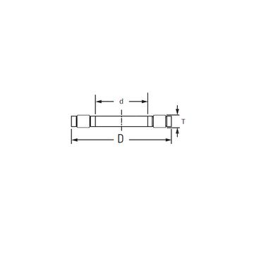 K,81212LPB KOYO Thrust Roller Bearings