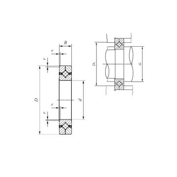 CRBC 8016 UU IKO Thrust Roller Bearings